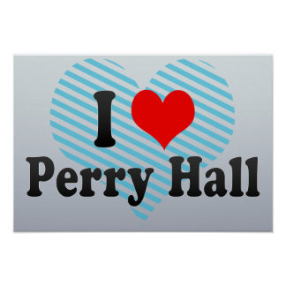I Love Perry Hall, United States Print