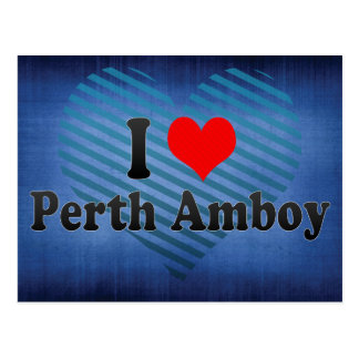 I Love Perth Amboy, United States Postcard