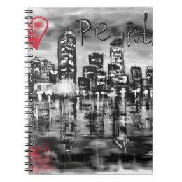 I love Perth Notebook