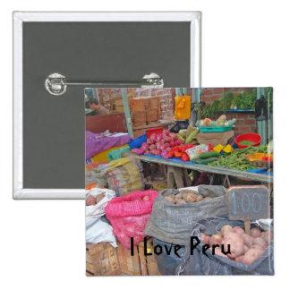 I Love Peru-Peruvian Potatoes Pin