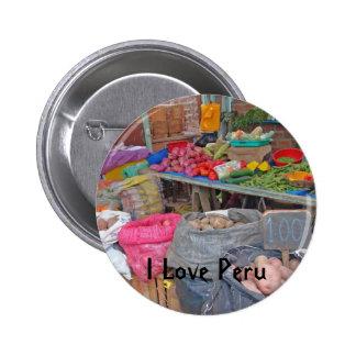 I Love Peru-Peruvian Potatoes Pins