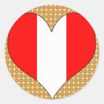 I Love Peru Sticker