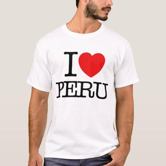 I love Peru T-Shirt