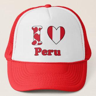 I love Peru Trucker Hat