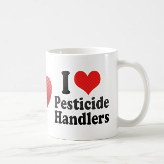 I Love Pesticide Handlers Mugs