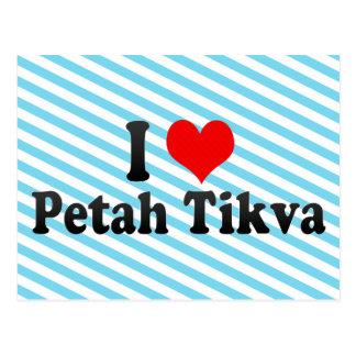 I Love Petah Tikva, Israel Postcard
