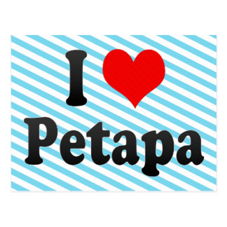 I Love Petapa, Guatemala Postcard