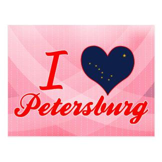 I Love Petersburg, Alaska Post Card