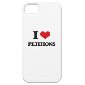 I Love Petitions iPhone 5 Cases