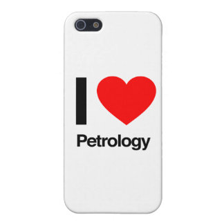 i love petrology iPhone 5/5S case