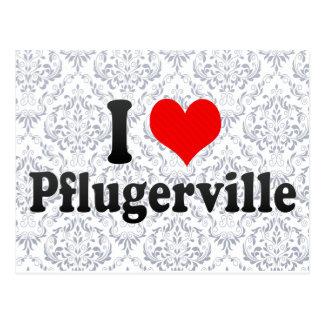 I Love Pflugerville, United States Postcards