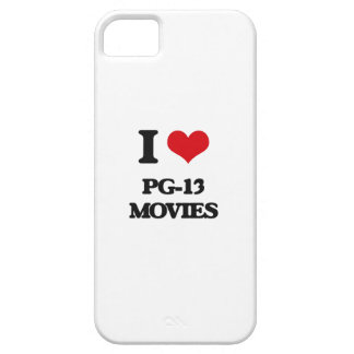 I Love Pg-13 Movies iPhone 5 Cases