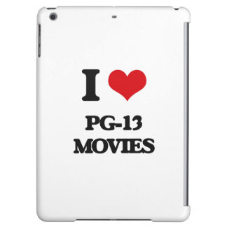 I Love Pg-13 Movies Case For iPad Air