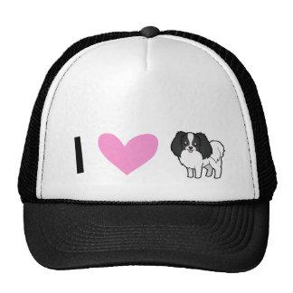 I Love Phalenes / Japanese Chins Trucker Hat