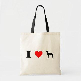 I Love Pharaoh Hounds Bag