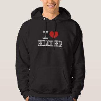 I love Philadelphia Hooded Pullover