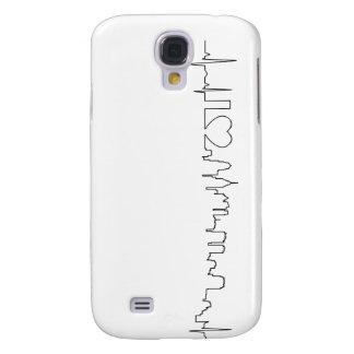 I love Philadelphia in an extraordinary ecg style Samsung Galaxy S4 Cases