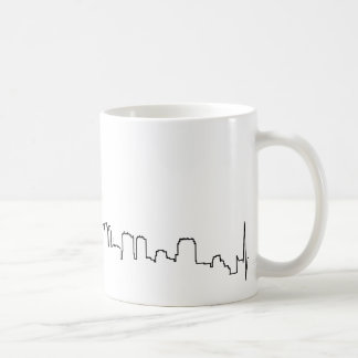 I love Philadelphia in an extraordinary ecg style Classic White Coffee Mug
