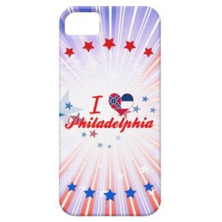 I Love Philadelphia, Mississippi iPhone 5 Covers