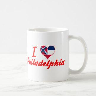 I Love Philadelphia, Mississippi Classic White Coffee Mug