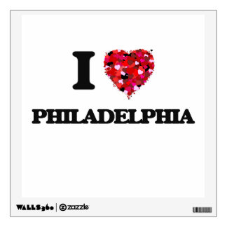 I love Philadelphia New Jersey Wall Graphics