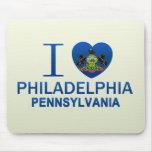 I Love Philadelphia, PA Mousepads