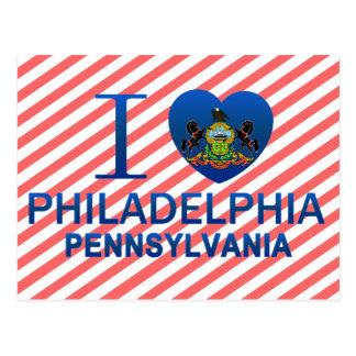 I Love Philadelphia PA Postcards