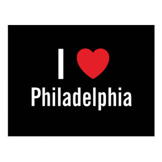 I love Philadelphia Post Card