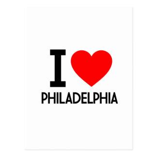 I Love Philadelphia Post Cards
