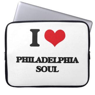 I Love PHILADELPHIA SOUL Laptop Computer Sleeves