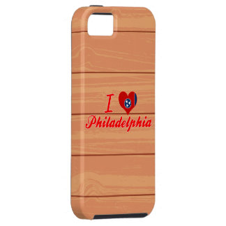 I Love Philadelphia, Tennessee iPhone 5 Cases