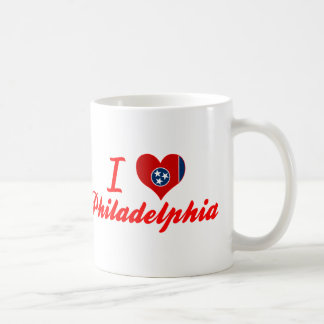 I Love Philadelphia, Tennessee Classic White Coffee Mug