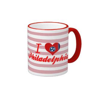 I Love Philadelphia, Tennessee Ringer Coffee Mug