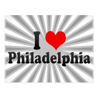 I Love Philadelphia United States Post Card