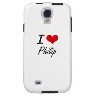 I Love Philip Galaxy S4 Case