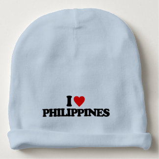 I LOVE PHILIPPINES BABY BEANIE