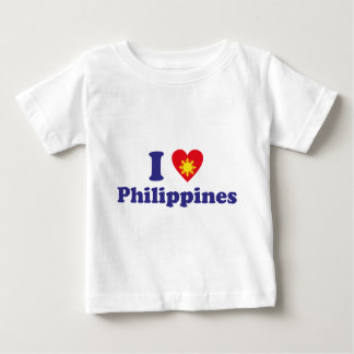 I Love Philippines Baby T-Shirt