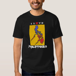 I Love Philippines Basic Dark T-Shirt
