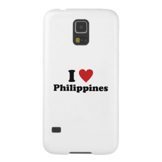 I Love Philippines Galaxy S5 Cover