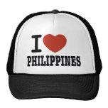 I LOVE PHILIPPINES HAT