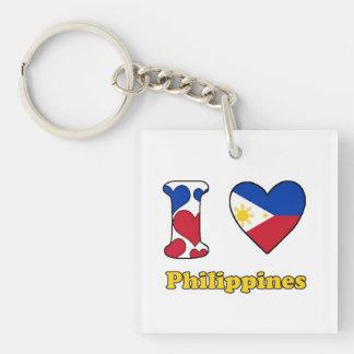 I love Philippines Keychain