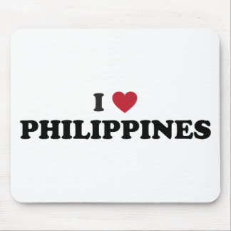 I Love Philippines Mouse Pad