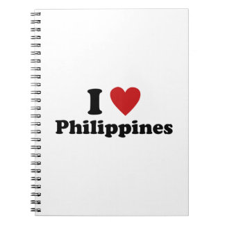 I Love Philippines Notebook