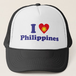 I Love Philippines Trucker Hat