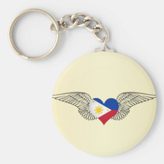 I Love Philippines -wings Keychain