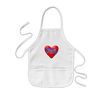 I Love Philly Kids' Apron