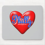 I Love Philly Mouse Pads