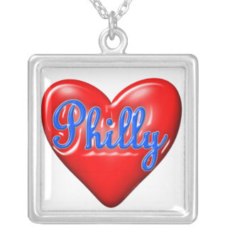 I Love Philly Personalized Necklace