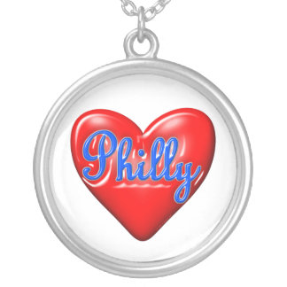 I Love Philly Custom Necklace