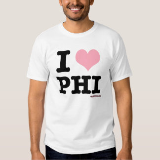 I Love Philly Pink Heart T-Shirt